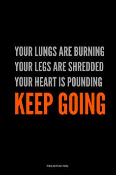 Lungs burning. Legs shredded. Heart pounding. Keep going.    #fitness #fitspiration #gymspiration #motivation #workout #running #athlete
