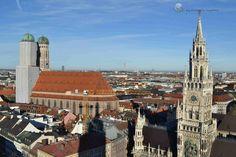 Igreja de São Pedro: A Cidade de Munique Vista do Alto