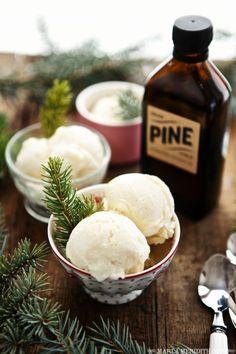 Mountain Pine Ice Cream | A sweet taste of the Mountains! http://FamilyFreshCooking.com