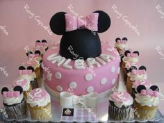 Minney Mouse cupcakes