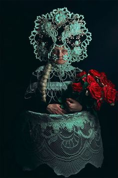 Have you ever browsed some internet forums and heard some teeny kids from the west how Slavs have no culture? Well after this amazing photo shoot their mouths will be closed for good, Slavic fusion in a series 'Pagan Poetry' made by Polish photographer Macin Nagraba and all costumes made by Agnieszk