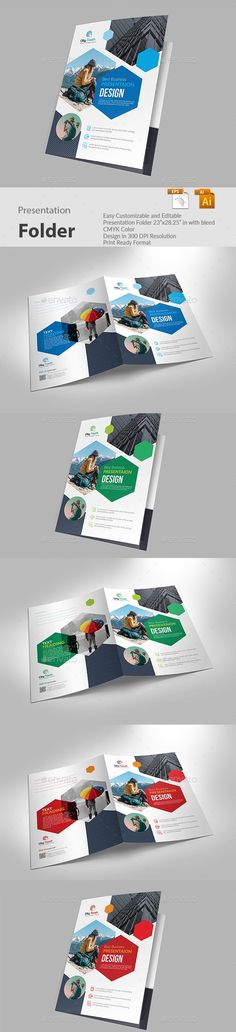 Buy Presentation Folder by sketchgraph on GraphicRiver. FEATURES: Easy to Edit Presentation Folder in with bleed CMYK Color Design in 300 DPI Resolution Print Rea.