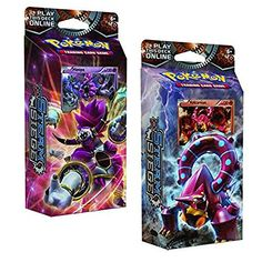 BOTH Pokemon XY Steam Siege 60-card Theme Decks - Gears O...