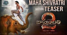 Baahubali 2 TheConclusion Official Motion Teaser | Prabhas | SS Rajamouli