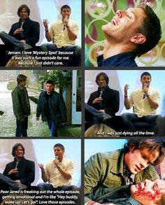 Mystery Spot  Literally one of my favorite episodes, could not stop laughing