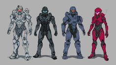 Halo 5: Guardians Concept Art by Robogabo