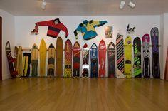 Evo Rare and Vintage Snowboard Show #evo