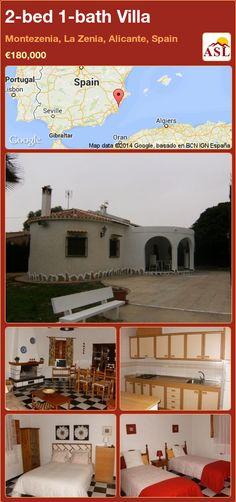 2-bed 1-bath Villa in Montezenia, La Zenia, Alicante, Spain ►€180,000 #PropertyForSaleInSpain