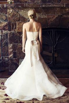wedding dress idea; featured photographer: Catherine Hall Studios