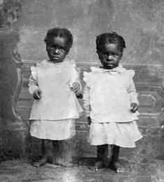 Vintage African American Toddlers in 1880.