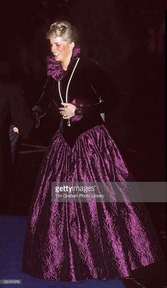 Oct 27 1987 Princess Diana Gala for Birthright London's West End