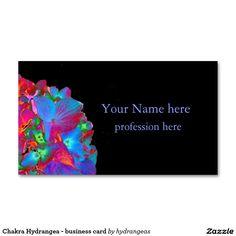 Chakra Hydrangea - business card