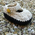 Crochet Baby Bootees Suede Winter Booties by funkybootees