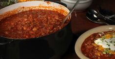 This chili surprises your tongue with both sweet and savory sensations. Yum!