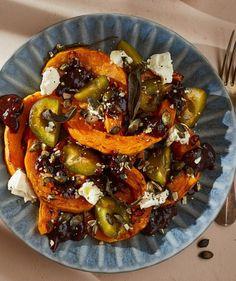 Light Recipes, Superfood, Vegetable Pizza, Feta, Clean Eating, Seasons, Foods, Lights, Drink