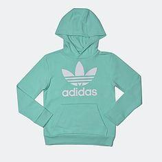 adidas Originals J TRF HOODIE ''adicolor'' (CY2312) Adidas Originals, The Originals, Hoodies, Sweatshirts, Room Ideas, Graphic Sweatshirt, Sweaters, Kids, Fashion