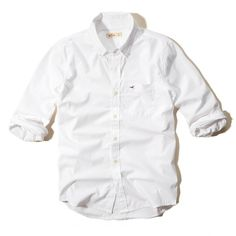 Oxford Guys Shirts ($29) ❤ liked on Polyvore featuring shirts, tops, men and white oxford
