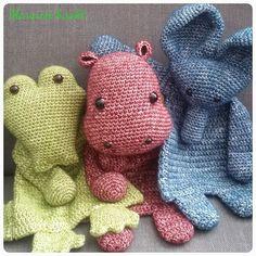 The 3 friends Crochet Security Blanket, Crochet Lovey, Crochet Baby Toys, Crochet Afgans, Crochet Gifts, Cute Crochet, Crochet For Kids, Crochet Dolls, Knit Crochet