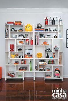 Revista MinhaCASA - Apartamento pequeno personalizado por coleções