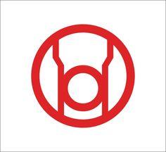 Red Lantern Corps logo Vinyl Decal, DC Comics, Green Lantern #DecalDrama
