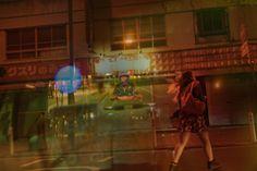 Taxi driver Issui Enomoto captures unique multiple exposure photographs of Yokohama, Japan.