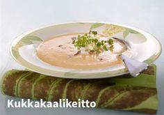 Kukkakaalikeitto Resepti: Valio #kauppahalli24 #ruoka #resepti #kukkakaalikeitto