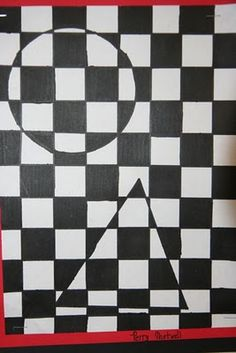 6th grade op art