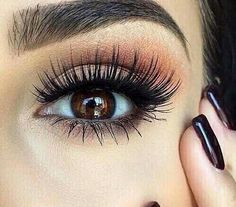 My favourite make-up ideas for brown eyes!.... >> See even more at the image link
