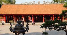 Palác literatury v Hanoji. #hanoj #cestovani #palác #travel #vietnam