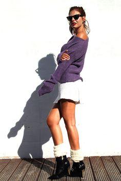 Heather Alpaka Sweater by AlexandraMilcarz on Etsy