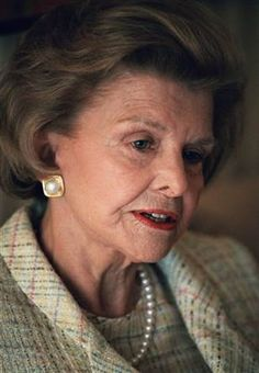 """Influential Woman ღ Betty Ford - Betty Ford is best known for beginning her famous drug and alcohol addiction treatment center, but that's not all that she brought to the table.  Back in 1974 when """"cancer"""" was only a mere whisper, Betty openly talked about the taboo topic, taking away the shame of the forbidden word!   Please continue reading to learn more about this outspoken First Lady!"""
