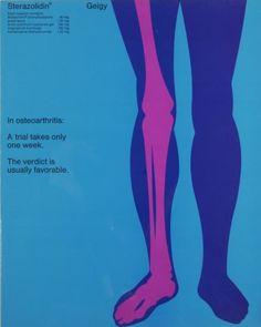By Fred Troller, 1 9 6 6, Geigy, Sterazolidin® In osteoarthritis: A trial takes only one week.