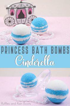 These Cinderella bath bombs are the perfectly perfect gift for anyone who loves the penultimate princess. And it's a quick and easy bath fizzy recipe. Wine Bottle Crafts, Mason Jar Crafts, Mason Jar Diy, Princess Crafts, Homemade Bath Bombs, Bomb Making, Bath Bomb Recipes, Mason Jar Lighting, Disney Crafts