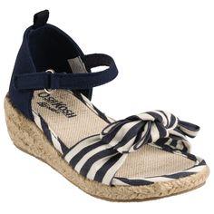 Striped Espadrilles | Girl Shoes/OshKosh/$36