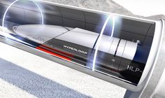"""PriestmanGoode unveils Hyperloop passenger cabins that are """"more spaceship than train"""""""
