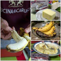 Εύκολο κέικ μπανάνας 1
