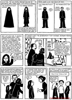 """Persepolis"" by Marjane Satrapi look into her work people, its amazing what she has to share."
