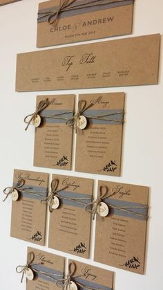Rustic wedding table plan with bird design. Grey belly bands with twine and wooden tags. Beautiful wedding stationery lovingly made and designed in the UK. For bespoke orders we would love to hear from you to discuss your requirements info@eatonstationery.co.uk Wedding Table Planner, Wedding Favor Table, Wedding Favors, Wedding Ceremony, Wedding Tables, Wedding Events, Wedding Souvenir, Wedding Locations, Table Seating Cards