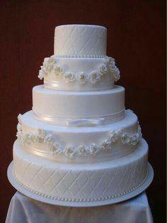 Indescribable Your Wedding Cakes Ideas. Exhilarating Your Wedding Cakes Ideas. White Wedding Cakes, Elegant Wedding Cakes, Beautiful Wedding Cakes, Gorgeous Cakes, Wedding Cake Designs, Pretty Cakes, Amazing Cakes, Wedding Unique, Cake Wedding