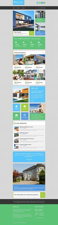 Thank you You are welcome!!   Real Estate Agency Responsive Newsletter Template view live demo  http://cattemplate.com/website-template/real-estate-agency-responsive-newsletter-template/