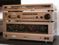 Power Mos-Fet & Dual Servo | HITACHI 1980 Hi Fi System, Audio System, Hifi Audio, Stereo Speakers, Radios, Lps, Valve Amplifier, Audio Room, Audio Sound