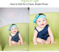 Several Before and After tutorials with workflow from lightroom to photoshop from different photographers