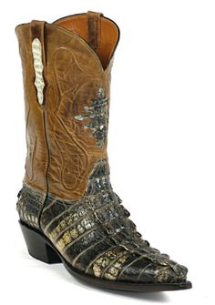 American Alligator Boots Style NT116 Custom-Made by Black Jack Boots