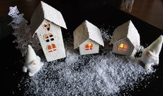 Christmas Crafts, Xmas, Decoration Table, Recycling, Arts And Crafts, Bird, Outdoor Decor, Home Decor, Christmas Tabletop