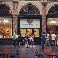 Pierre Marcolini in Brussels. Buy fancy Belgian chocolate (multiple locations)
