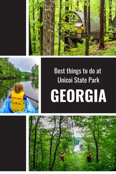 Whether you prefer the quiet serenity of lake life, or, the thrilling adventures like zip-lining and archery - there is something for everyone here! Read all about the best things to do at Unicoi State Park in Georgia in our blog. #AdventurePark #AdventureVacations #FamilyAdventure #OutdoorFun #FamilyRoadTrip #USRoadTrips #FamilyTravel Family Road Trips, Road Trip Usa, Family Travel, Usa Travel, Solo Travel, Travel Tips, Park Lodge, Zip Lining, The Perfect Getaway