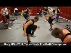 Football Drills for Explosive Power & speed: VertiMax