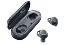 The SAMSUNG GEAR ICON X are completely wireless earbuds.