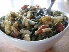 Spanakorizo (Greek Spinach Rice)- Kali Orexi