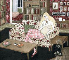 Чудесные иллюстрации от Yelena Bryksenkova - Ярмарка Мастеров - ручная работа, handmade